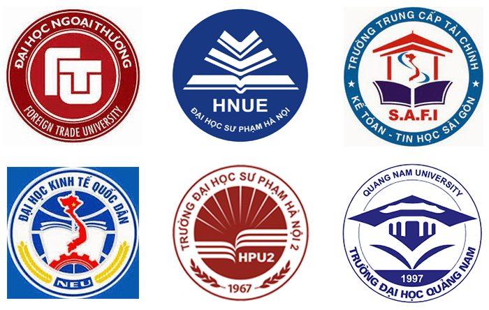 logo các trường đại học việt nam