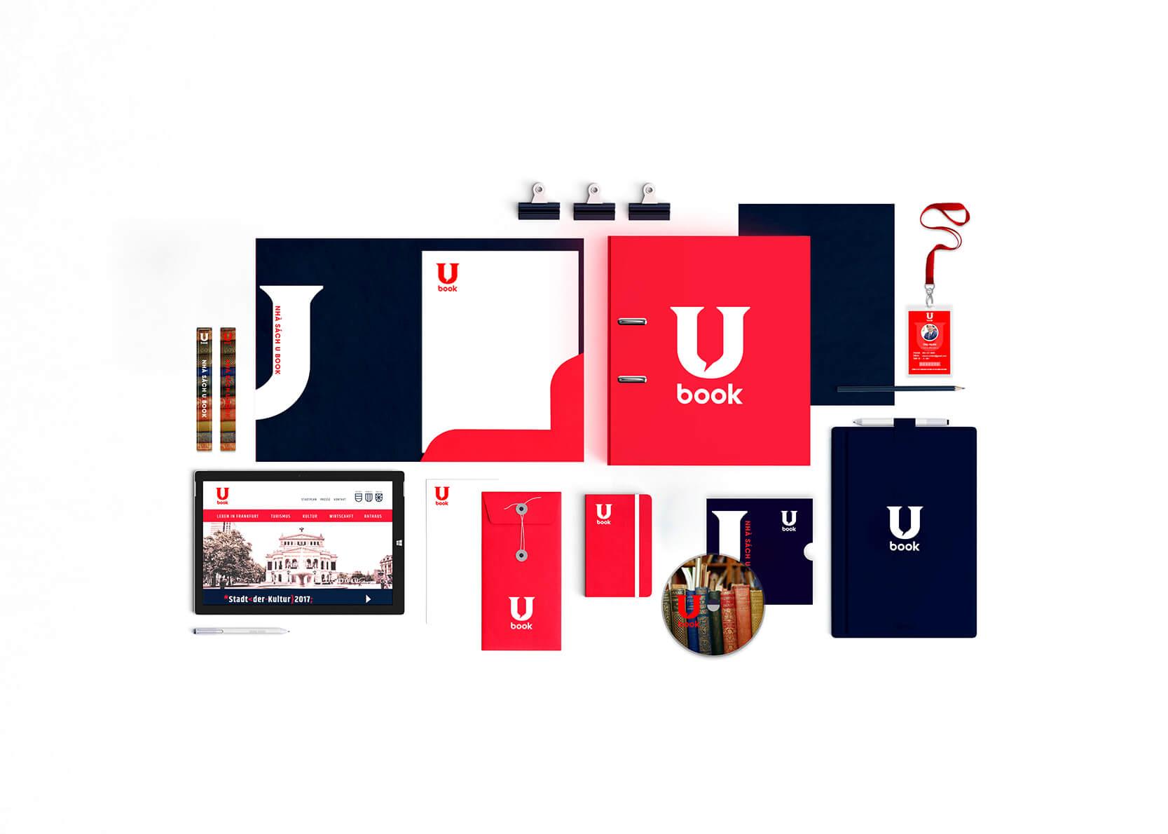 design brand identity ubook