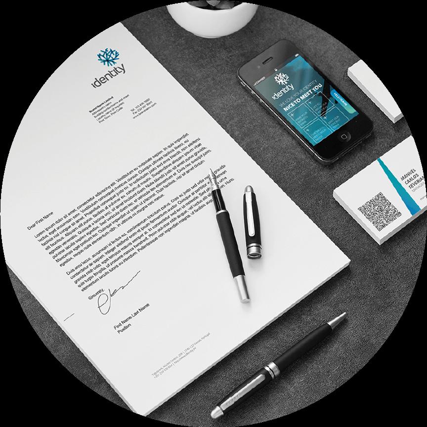 System design brand identity