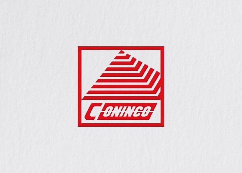Coninco building logo design