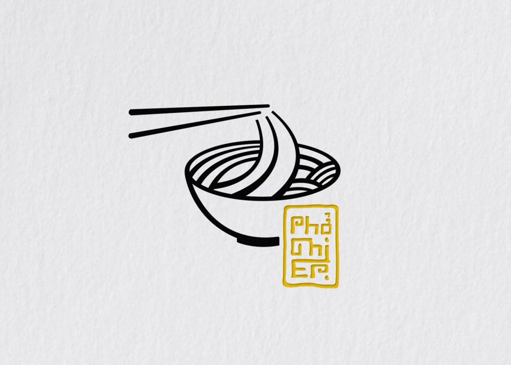 noodle shop logo design