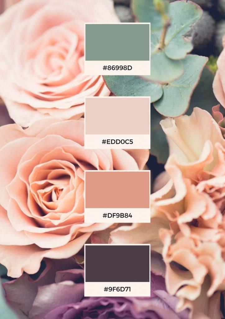 flower color palettes