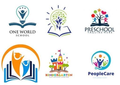 logo trường học